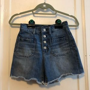 Madewell Button Fly Shorts